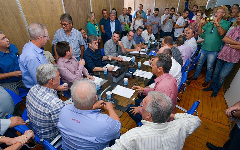 Reunião aconteceu na sexta-feira, 6